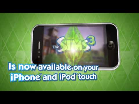The Sims 3 iPhone Trailer