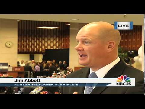 Live interview with Flint native/former MLB pitcher Jim Abbott