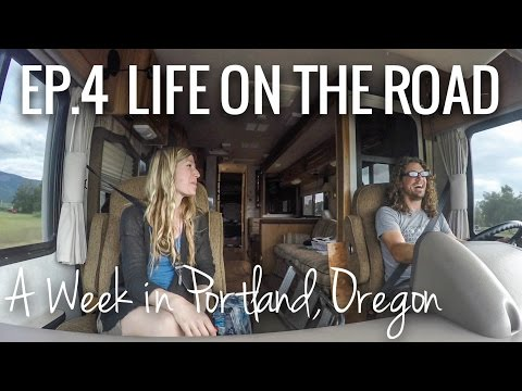 [RV Life & Travel] Ep. 4 Exploring Portland, Oregon as Full-Time RVers