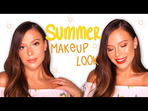EASY SUMMER MAKEUP TUTORIAL | Mariijosemua | BUSLIFE Makeup thumbnail