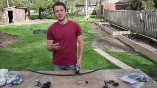 Building A Raised Bed Garden - Part 3 Of 3 - Drip Irrigation & Soil