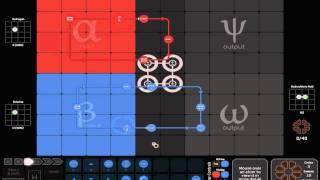 Spacechem gameplay hd 1080p simple example