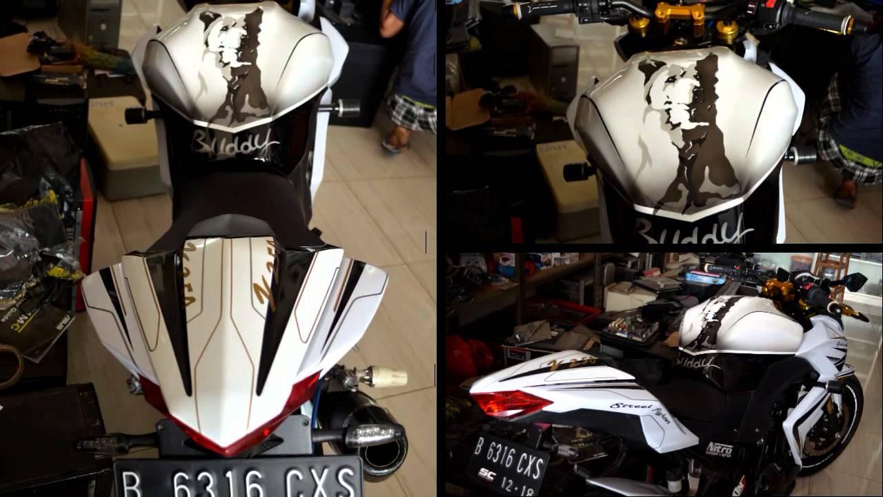 Variasi Motor Kawasaki Z 250 terkeren