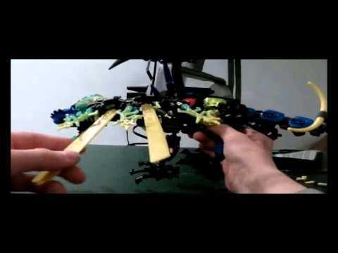 LEGO Hero Factory 5.0 Review: Dragon Bolt - YouTube