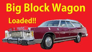 1978 Mercury Marquis Colony Park Station Wagon Exterior Video Review