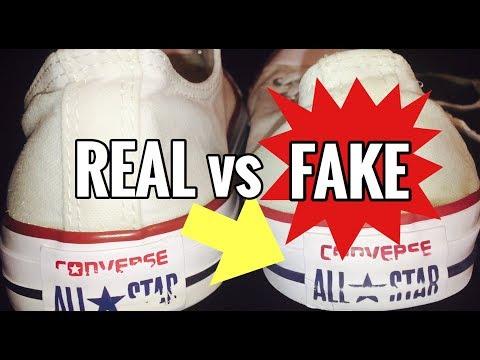 CONVERSE - REAL VS FAKE!