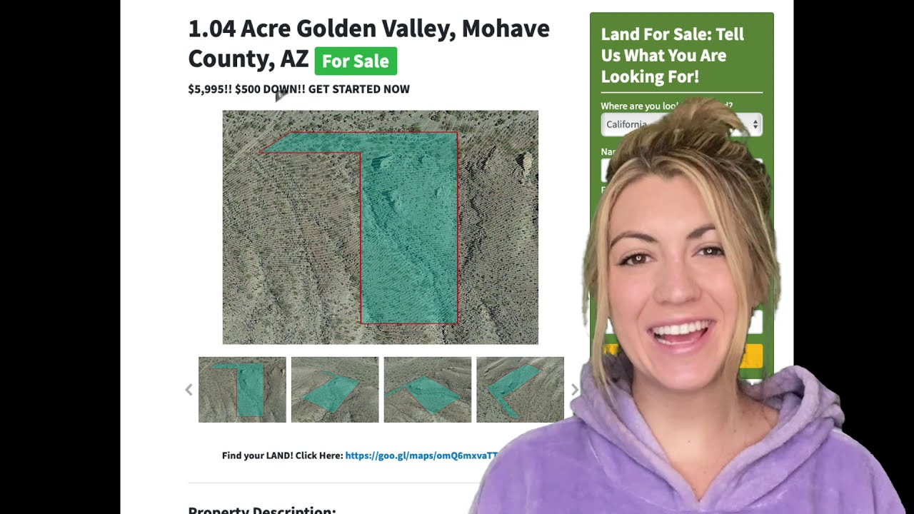 1.04 Acres Golden Valley Property in Mohave County, AZ