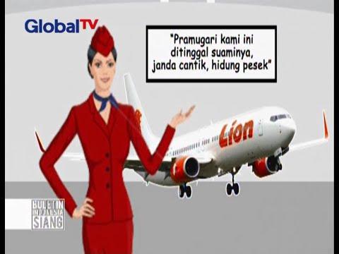 Misteri Suara Desahan Di Pesawat Lion Air - BIS 19/11