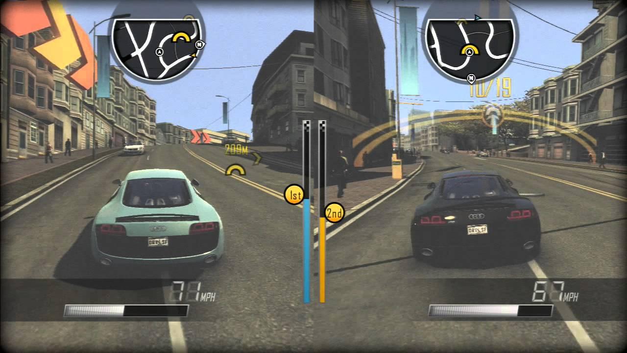 Driver San Francisco Ps3 2 Player Split Screen Part 4