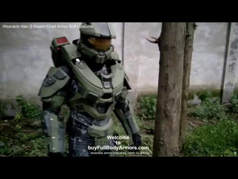 the life size wearable halo 5 master chief armor suit costume