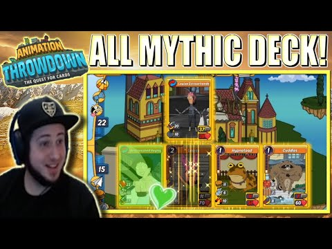 My Mythical Siege - Mythic Deck | Animation Throwdown