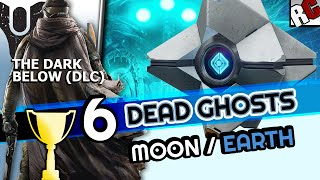 Destiny The Dark Below - All DEAD GHOST Locations Guide - 6 Ghost Fragments