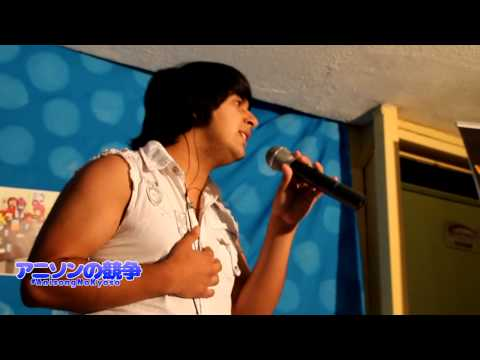 "Gino Sciaraffia ""Tricker"" - Crazy Rainbow (One Piece Opening 8) LIVE #AnisongNoKyoso"