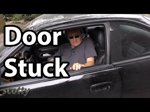 Fixing A Car Door That Won T Open Youtube