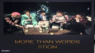 5tion (오션) - More Than Words (2014 Ver.)