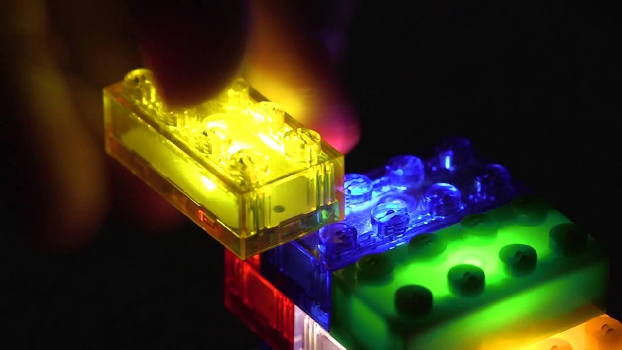 Led night light kickstarter - Light Stax Toy Bricks Meet Led Kickstarter Video