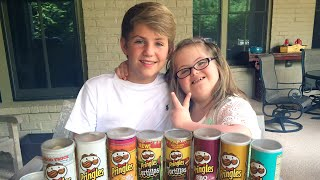 MattyB vs Sarah Grace - The Pringles Challenge