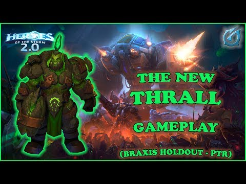 Grubby | Heroes of the Storm 2.0 | The New Thrall! - Braxis Holdout