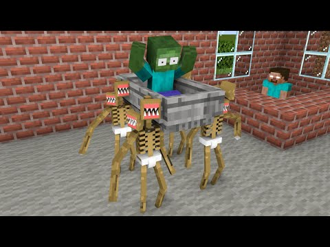 Monster School : Baby Siren Head Coffin Dance - Funny Minecraft Animation