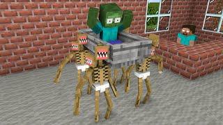 Monster School : Baby Siren Head Coffin Dance - Funny Minecraft Animation
