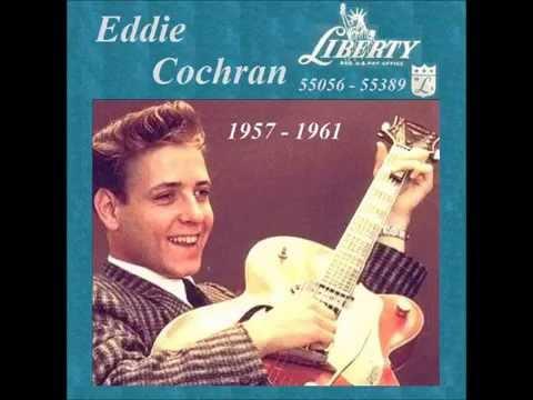 Eddie Cochran - Liberty 45 RPM Records 1957 - 1961