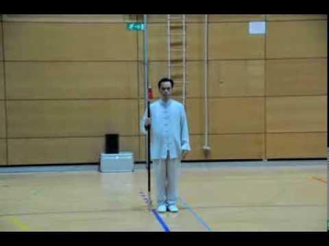 Halberd performed by Master Fu in Ljubljana 2013