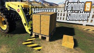 ЛУЧШИЙ МОД ДЛЯ КУРЯТНИКА! ПОДДОН ДЛЯ ЯИЦ! Farming Simulator 19