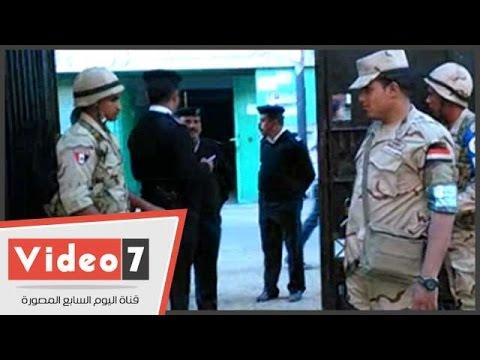 اليوم السابع : بالفيديو.. تكثيف أمنى أمام مقر اللجان الانتخابية بسيدة زينب