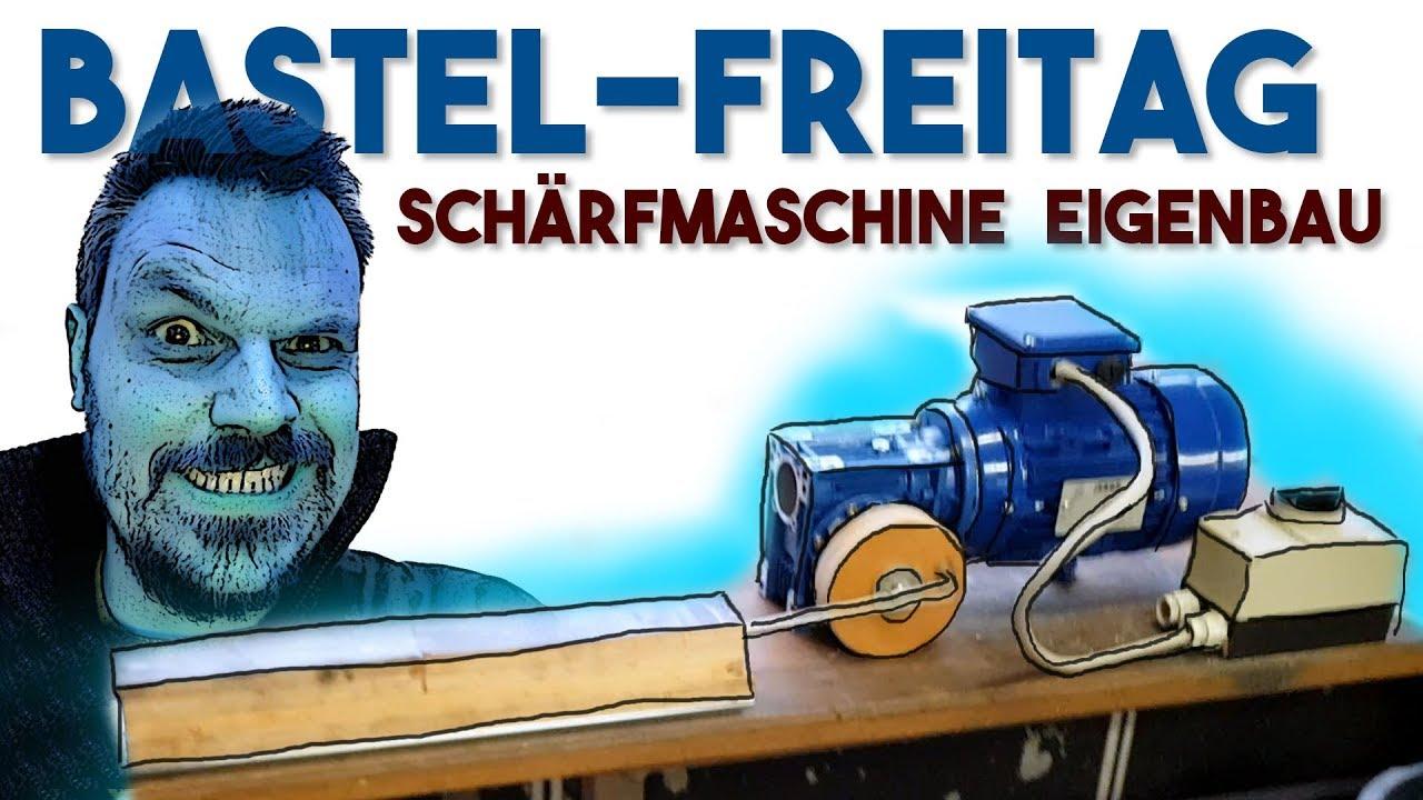 schleifmaschine eigenbau: messer schleiflokomotive für dmt diaflat