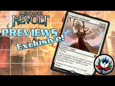 Exclusive Aether Revolt Preview – Exquisite Archangel!