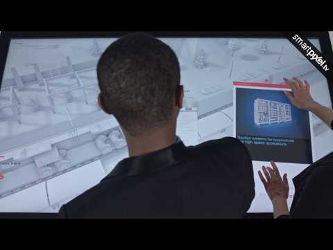 ABB - Interactive Multi-Screen System (Throw On The Wall)