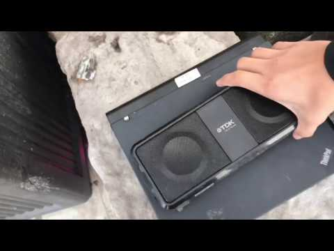 Best Buy Dumpster Diving: LAPTOP, BLUETOOTH SPEAKER, AND MORE!