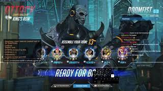 Overwatch Doomfist God GetQuakedOn Predator Of Kings Row
