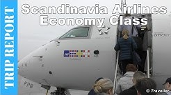TRIP REPORT - Scandinavian Airlines CRJ900 Economy Class CPH to AMS - Flight Review