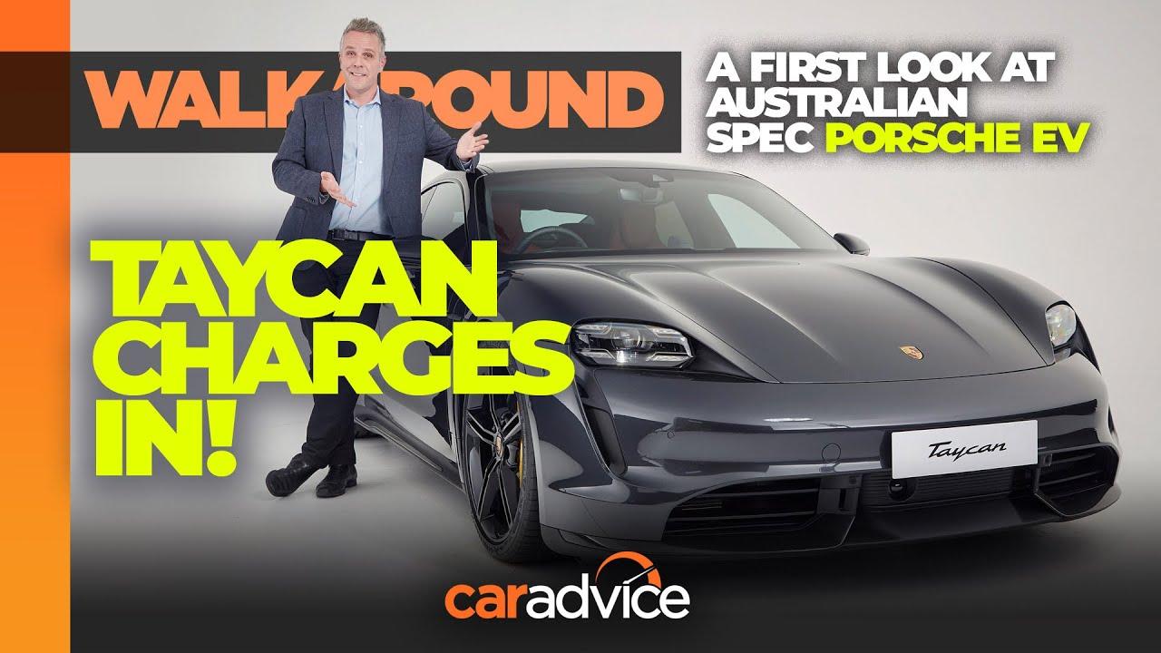 2020 Porsche Taycan Turbo S Australian Reveal Caradvice Youtube