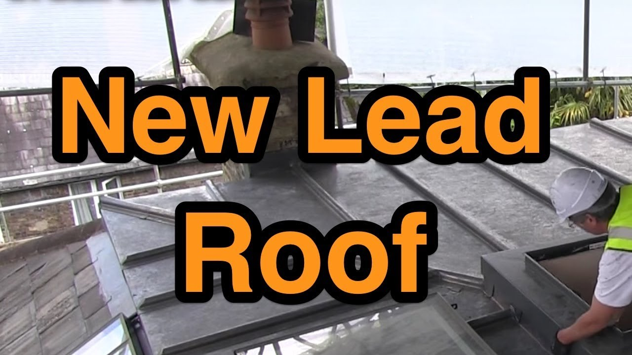 new lead roof highgate cold roof construction youtube