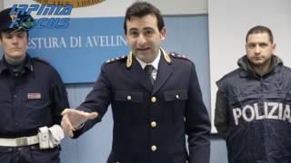 Sequestrati 16 chili di droga ad Avellino -  la conferenza stampa del Capo della Mobile  Salem