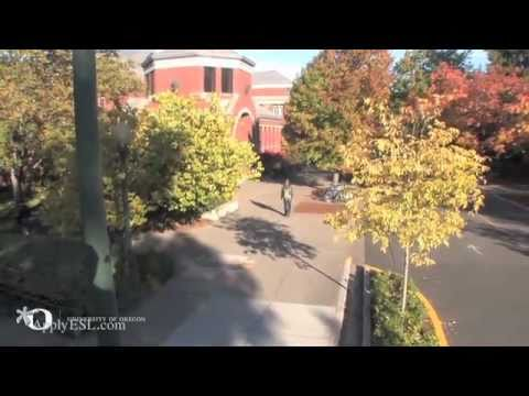 University of Oregon, American English Institute on YouTube