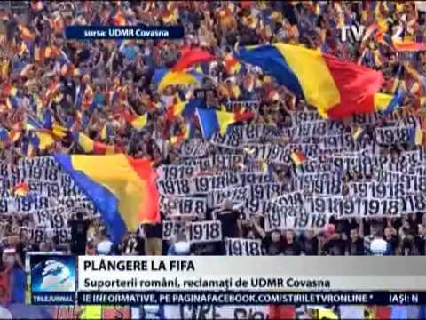 UDMR îi reclamă pe suporterii români la FIFA, în urma meciului România-Ungaria