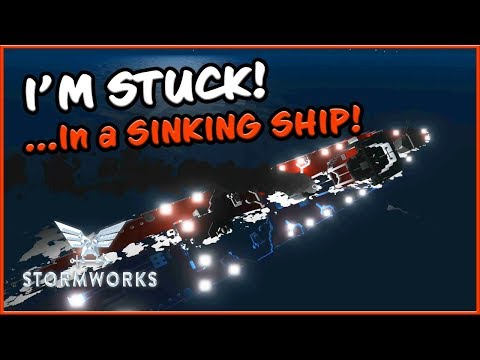 STUCK IN THE HULL - Stormworks Sinking Ship Survival! להורדה