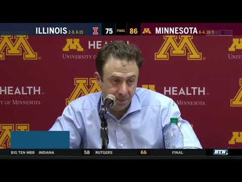 Press Conference: Richard Pitino Discusses Win vs. Illinois