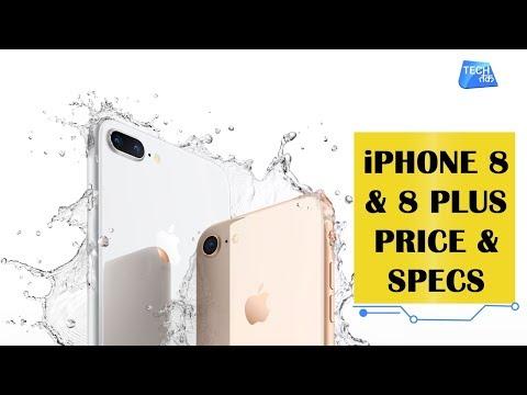 IPhone 8 & IPhone 8 Plus: Specs & Price  Tech Tak