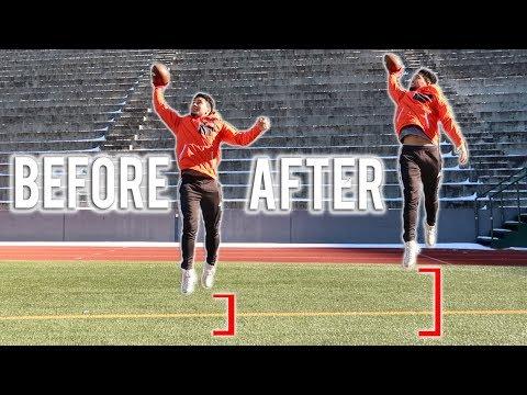 How Football Players Jump Higher!