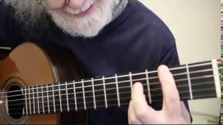 Spanish Romance Guitar Tutorial  Part 2