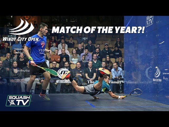 Squash: MATCH OF THE YEAR CONTENDER - Rodriguez v Lee - Extended Highlights