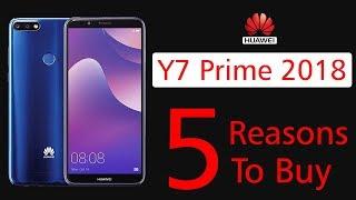 5 Best Features in Huawei Y7 Prime 2018
