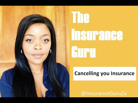 Cancellation Of Insurance
