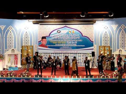 Soundcheck Anugerah SMKA Kuala Lumpur di Festival Nasyid Kebangsaan 2014