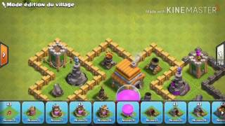 CLASH OF CLANS / VILLAGE RDV 6 RUSH/GDC ANCIEN VILLAGE RESTILÉ