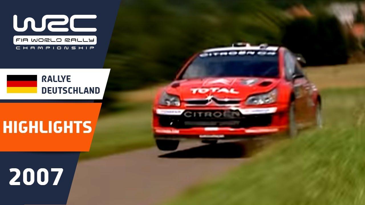 Rallye Deutschland 2007: WRC Highlights / Review / Results